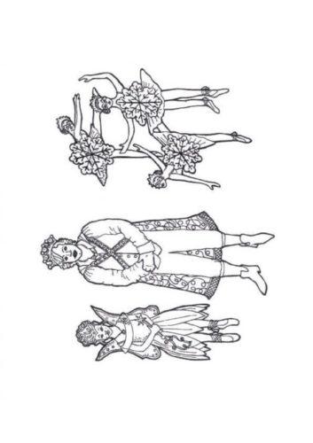 Nutcracker Ballet Coloring Pages