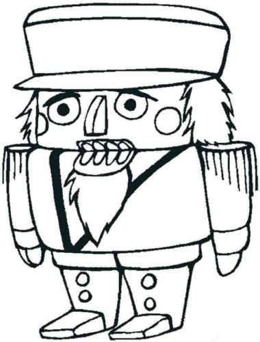 Nutcracker Coloring Images Printable