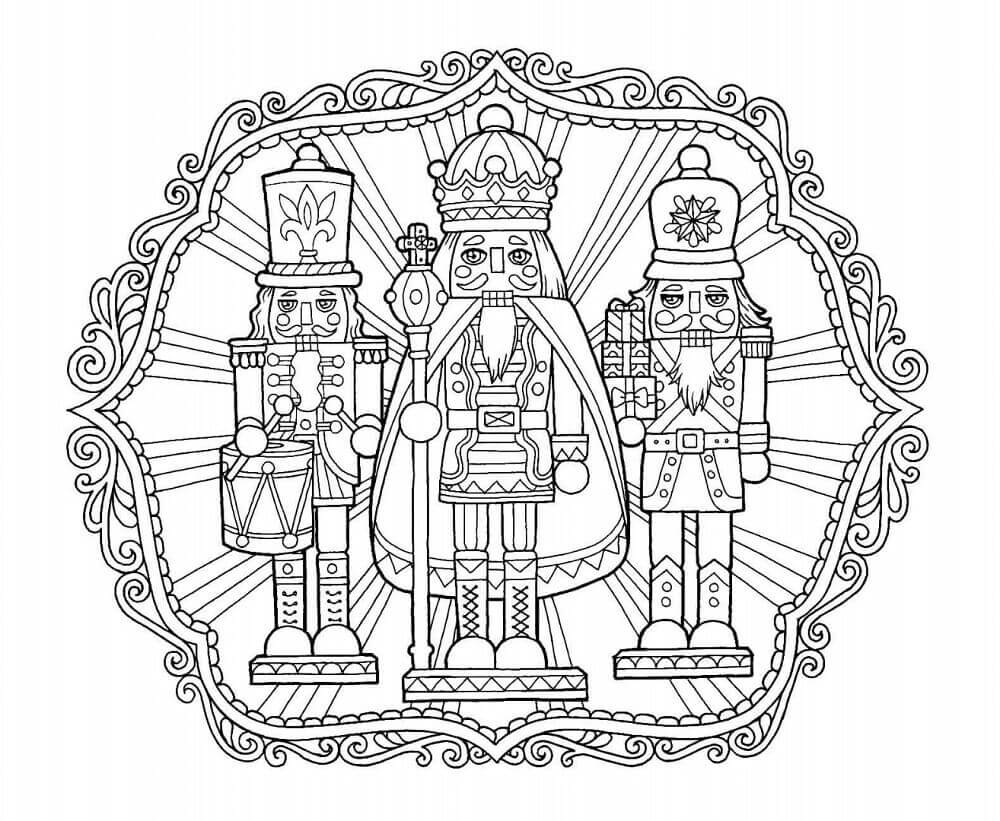 Nutcracker Coloring Pages For Adults