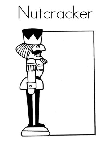 Nutcracker Template Printable