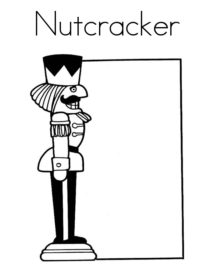 Nutcracker Template Printable
