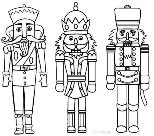 Nutcrackers Coloring Pages Printable