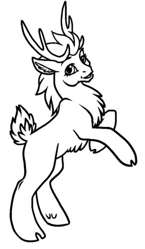 Reindeer Coloring Sheets Printable