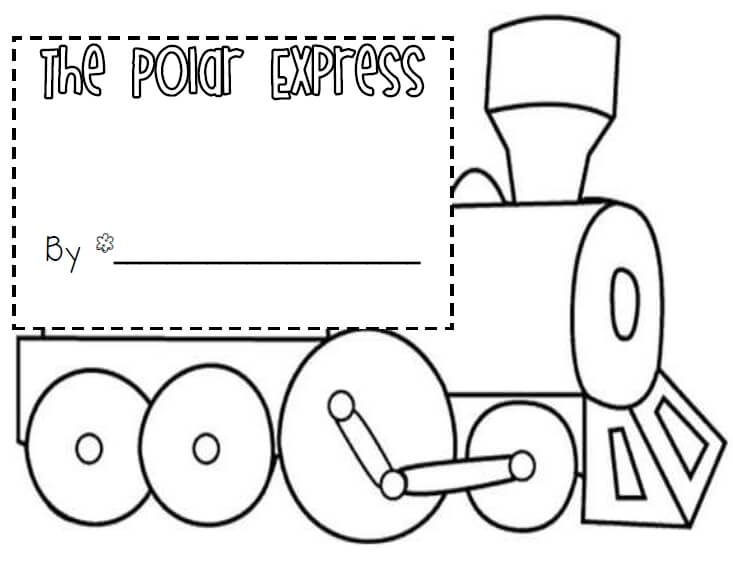 The Polar Express Coloring Pages For Preschoolers