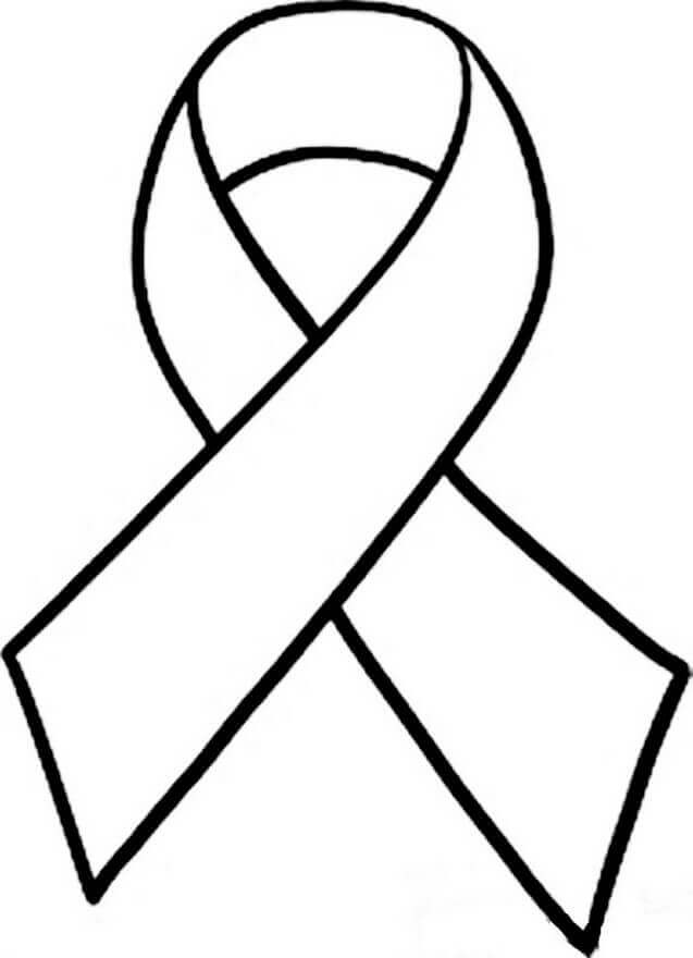 World Aids Day December Coloring Page