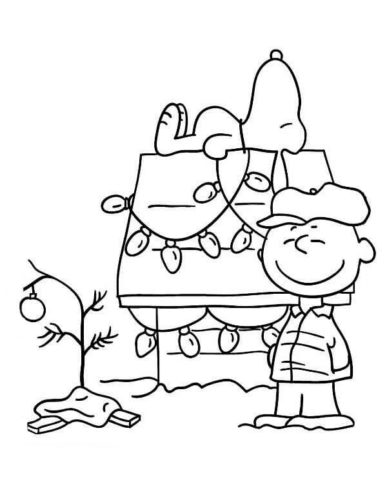 Charlie Brown coloring page | Free Printable Coloring Pages | 500x387