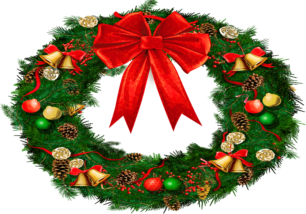 Christmas Wreath Clipart