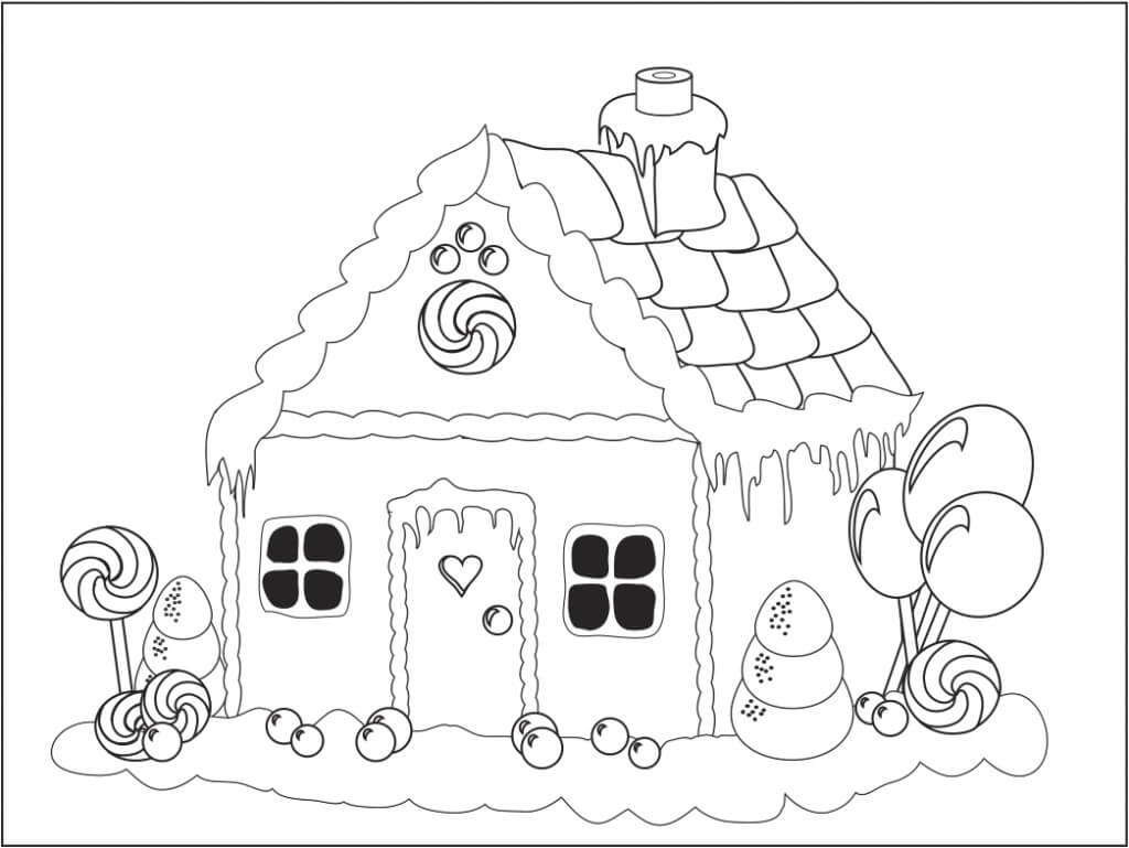 Gingerbread House Printables