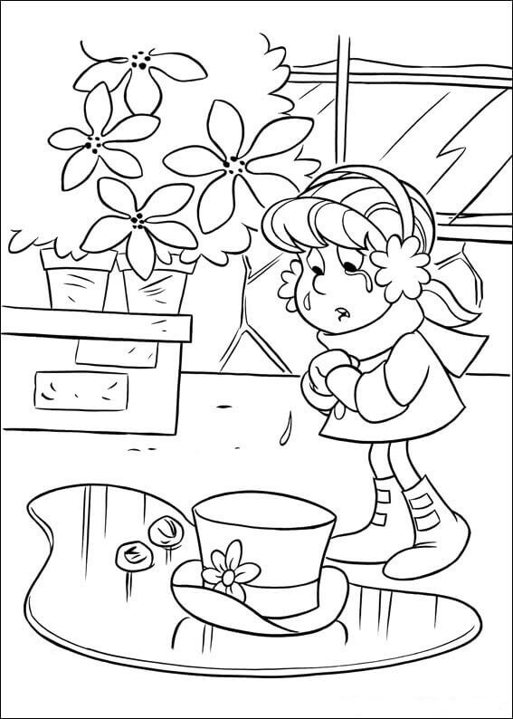 Melted Frosty Coloring Page