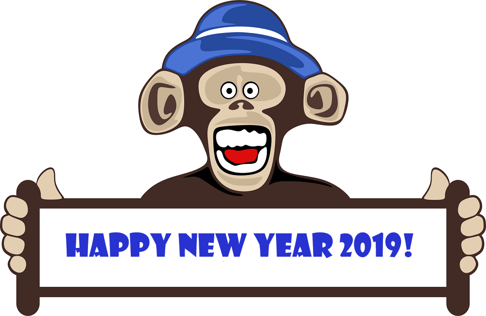 New Year 2019 Clipart
