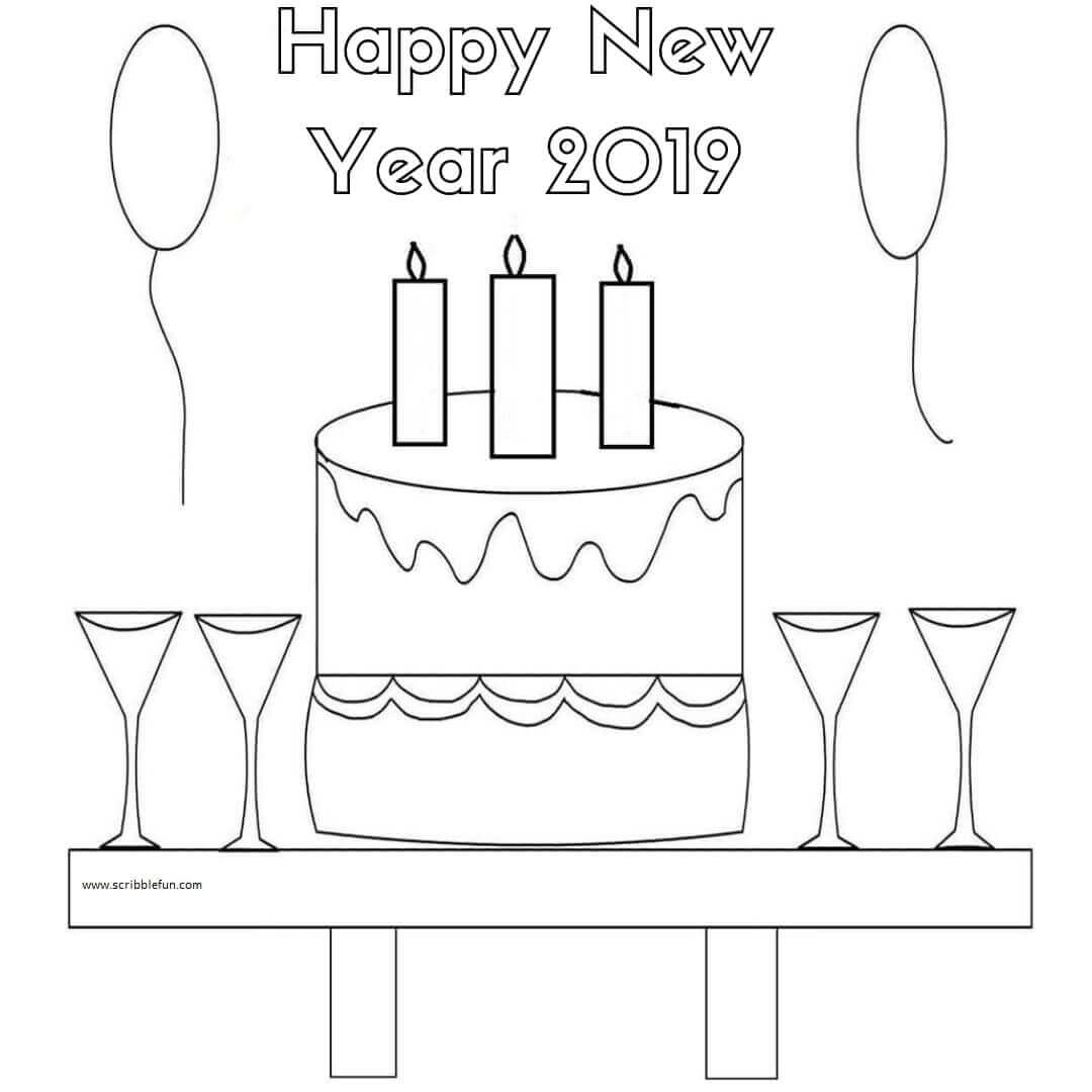 New Year Printable 2019