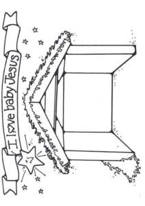 Stable Template Coloring Printable