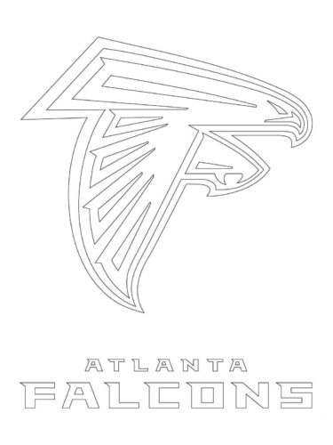Atlanta Falcons Coloring Pag