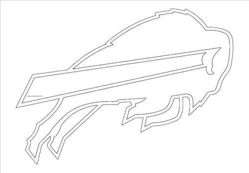 Buffalo Bills Coloring Page NFL