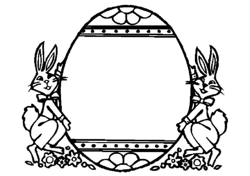 Easter Egg Printable Template