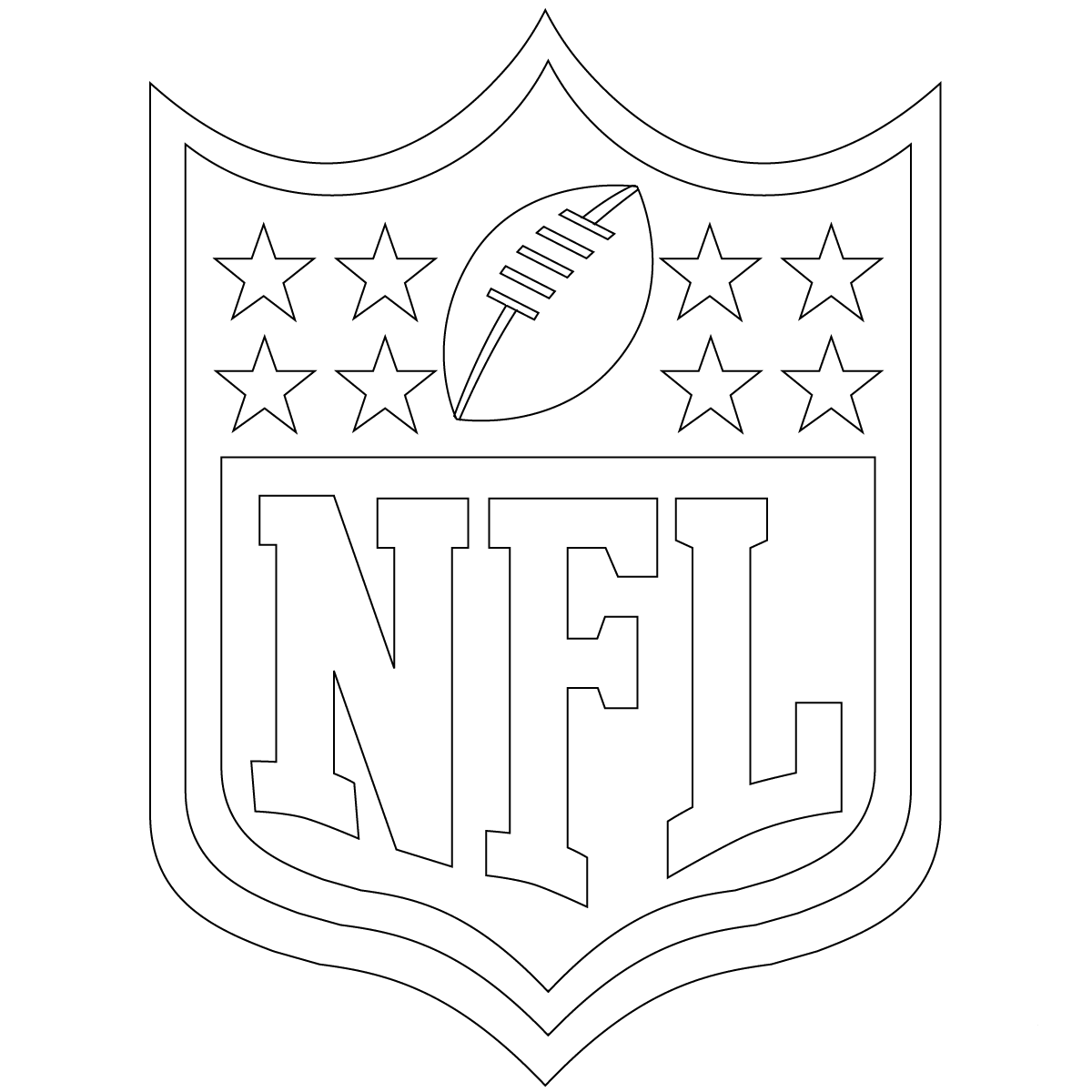Free Printable NFL Coloring Pages