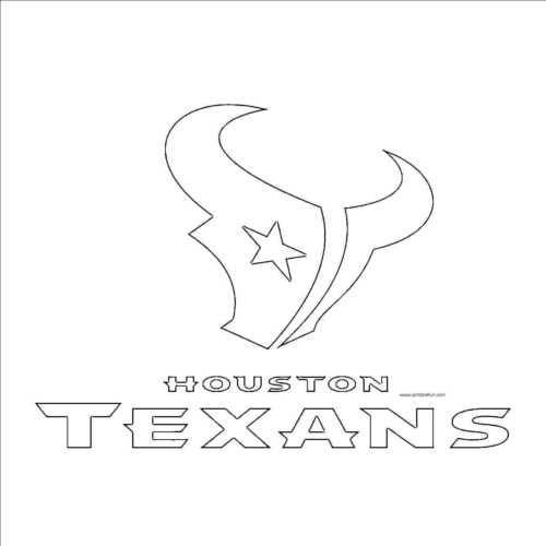 Houston Texans Coloring Page