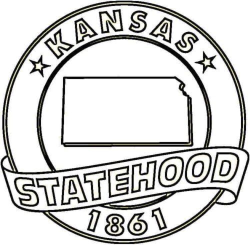 Kansas Day Coloring Sheets Printable