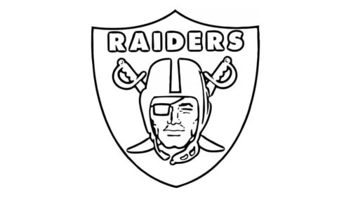 Oakland Raiders Coloring Picture NFL Free Printable