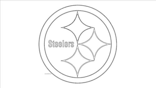Pittsburgh Steelers NFL Coloring Page