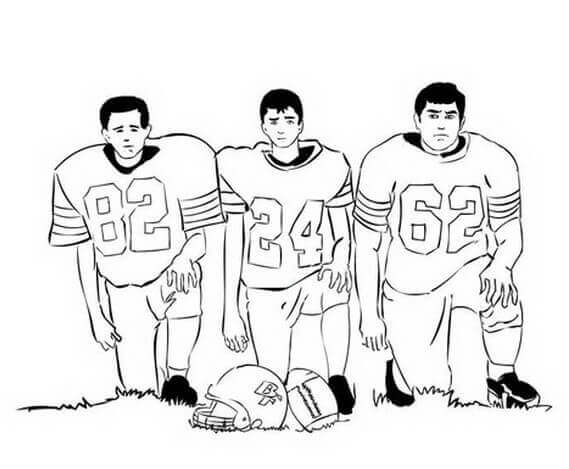 Super Bowl Sunday Coloring Sheet