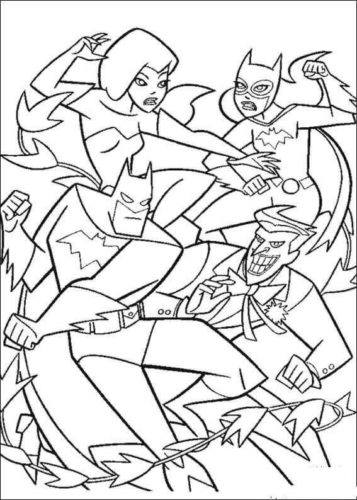 Batman Coloring Pictures To Print