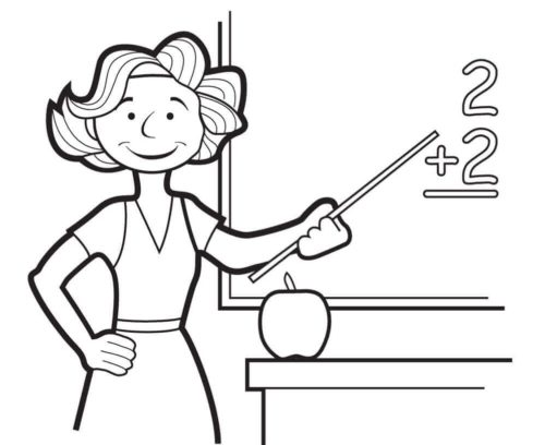 Coloring Pages for Toddlers, Preschool and Kindergarten | 408x500