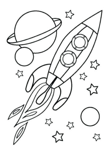 Coloring Picture Of Solar System