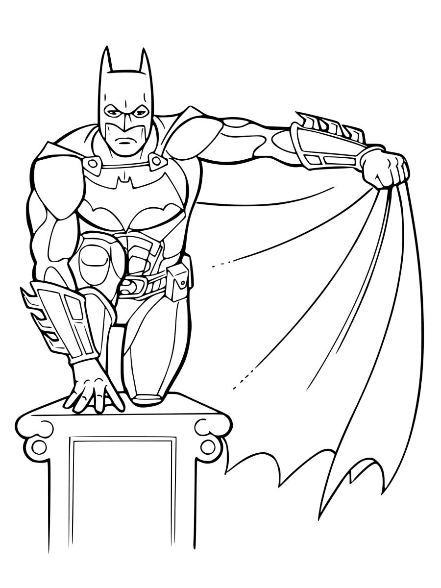 Free Batman Coloring Sheets