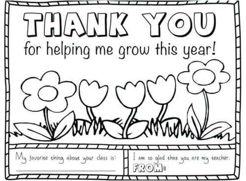 25 Free Teacher Appreciation Week Coloring Pages Printable | 368x500