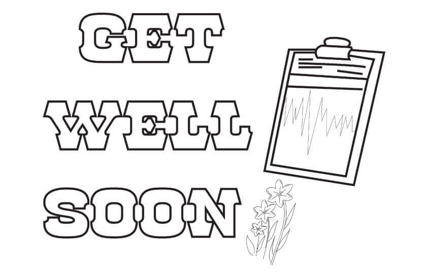 Get Well Soon Card Template Printable