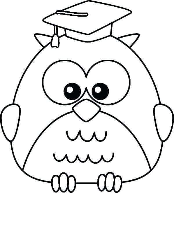 Kindergarten Graduation Coloring Pages To Print