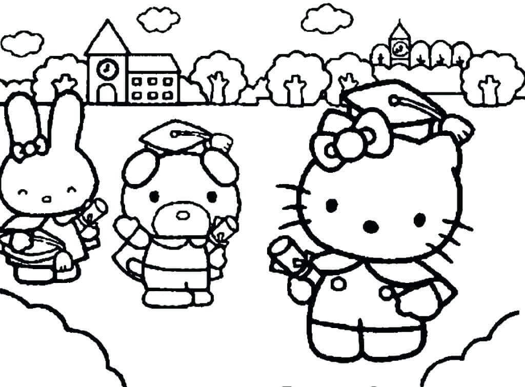 Kindergarten Graduation Day Coloring Pages