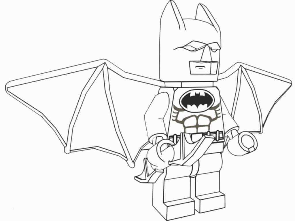 Lego Batman Film Coloring Page