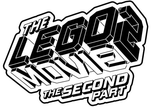 Lego Movie 2 Logo Coloring Page