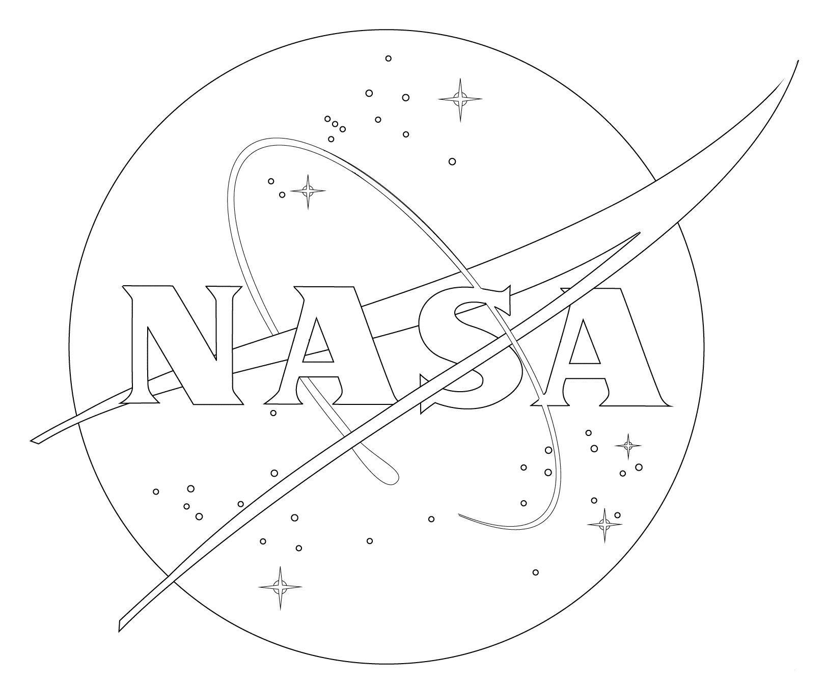 Nasa Coloring Page