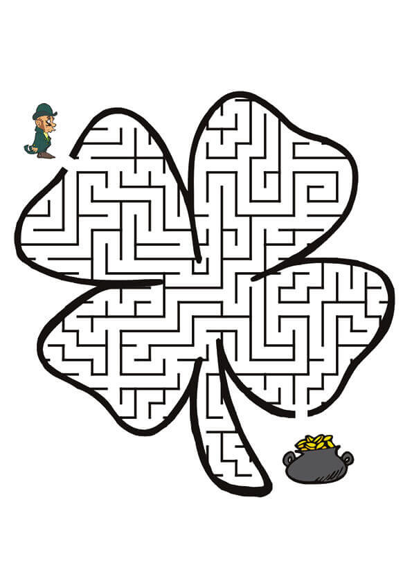 Shamrock Activity Sheet
