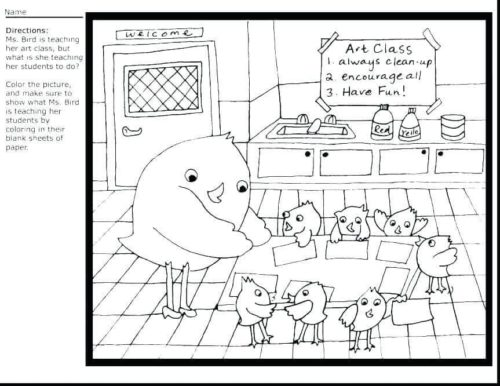 Teacher Appreciation Week Coloring Pages