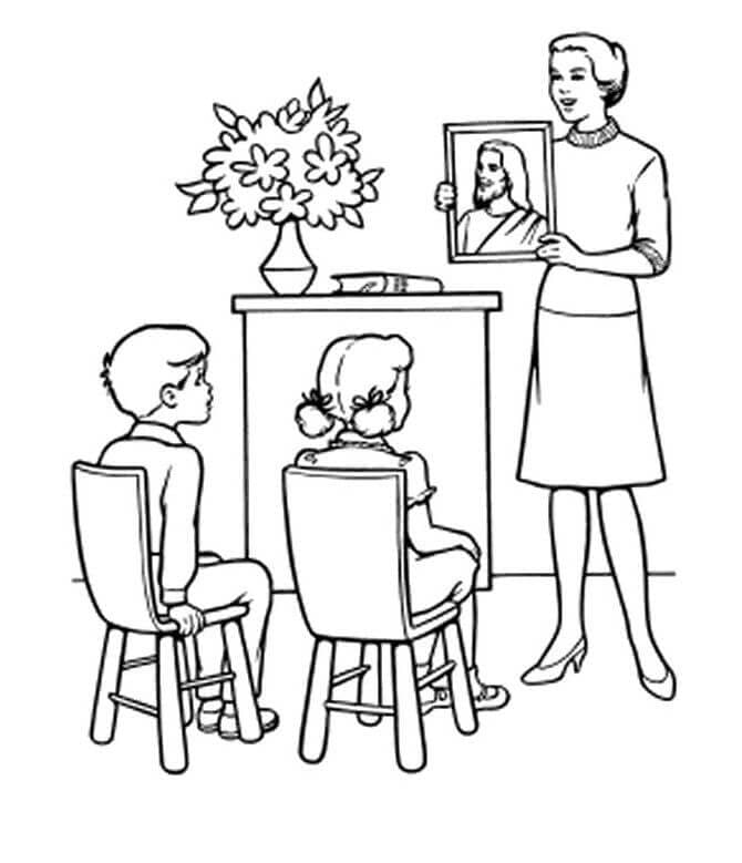 Teacher Coloring Pages To Print