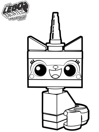 Free The Lego Movie 2 Coloring Pages Printable - ScribbleFun