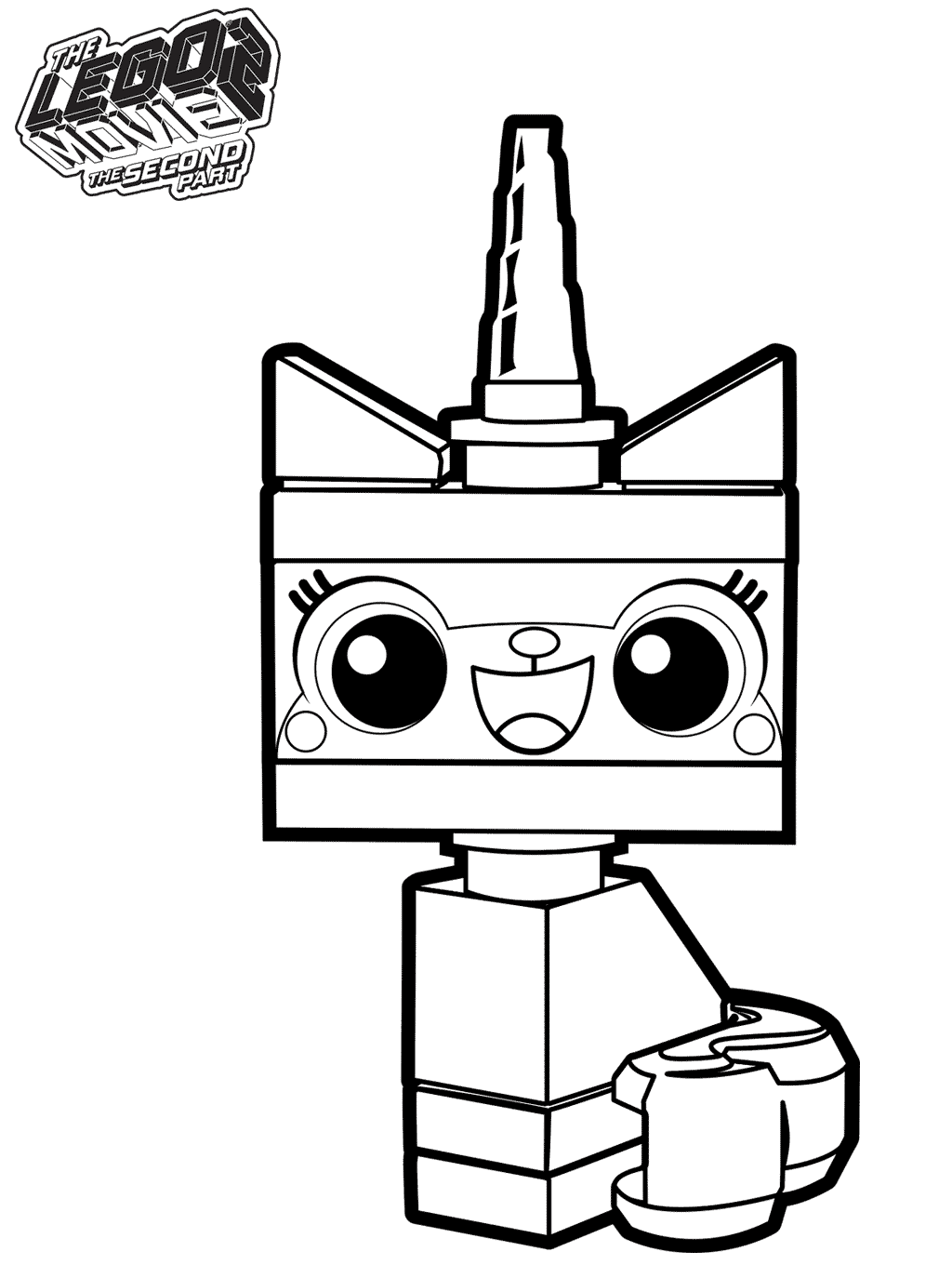 Free The Lego Movie 2 Coloring Pages Printable