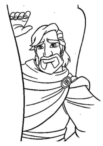Cassim Coloring Page
