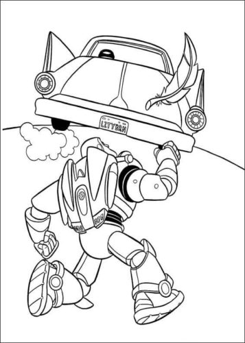 Free Toy Story Coloring Pictures