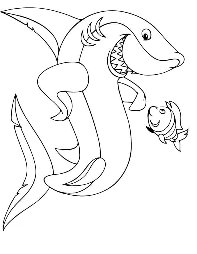 33 Free Shark Coloring Pages Printable