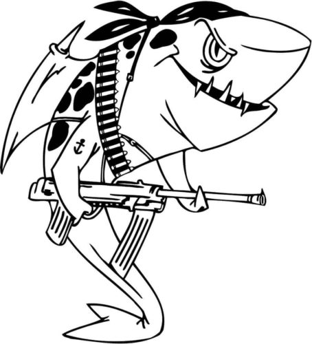 - 33 Free Shark Coloring Pages Printable
