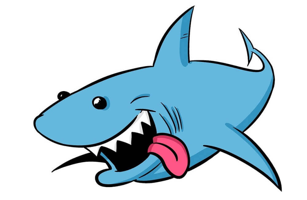 33 Free Shark Coloring Pages Printable - ScribbleFun