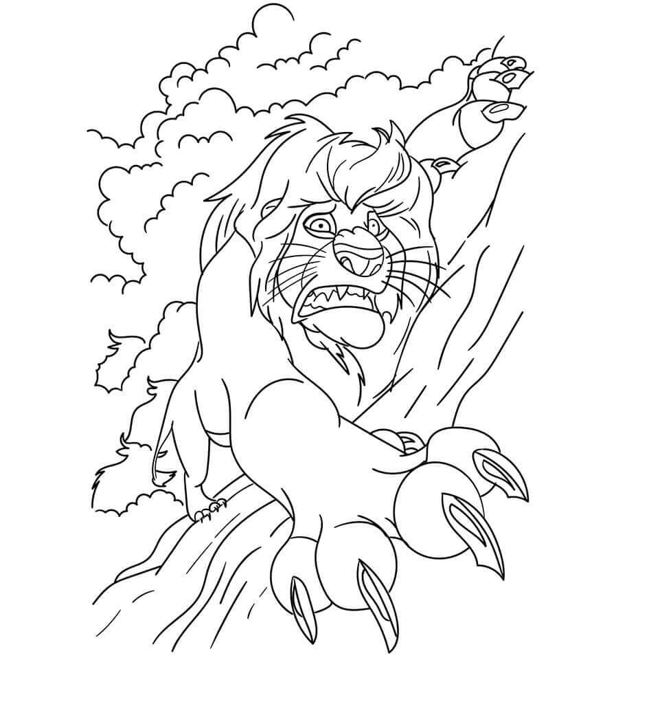 The Lion King Coloring Pages Printable