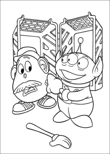 The Toy Story Coloring