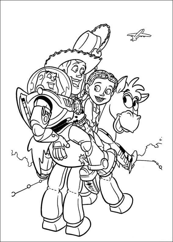 Toy Story Coloring Images