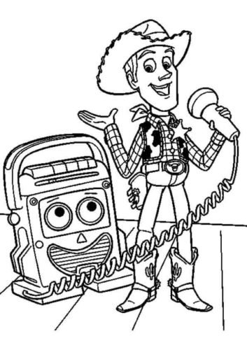 Toy Story Coloring Pictures To Print